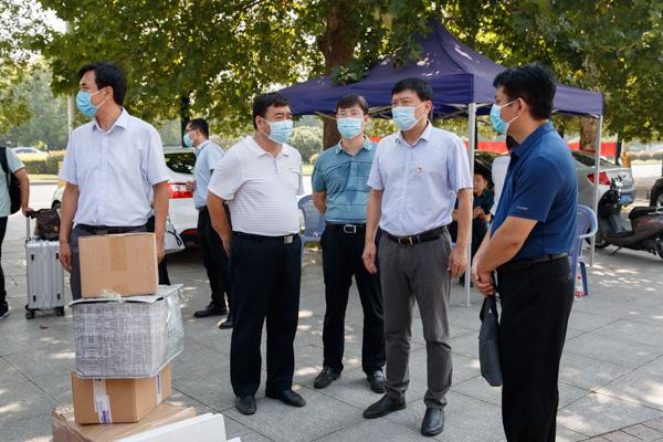河南科技大学迎来2020年秋季学期首批学生返校